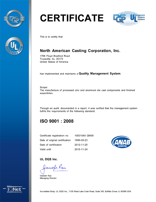 Certification QMS 2008 8-27-12for qa page
