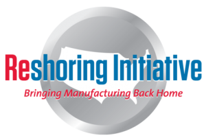 The Reshoring Initiative logo from the website reshorenow.org.