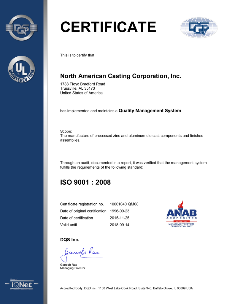 Certification QMS 2008 11-25-15